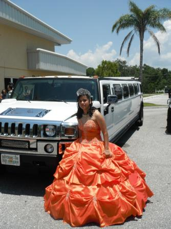 Hummer Limo Quinceanera