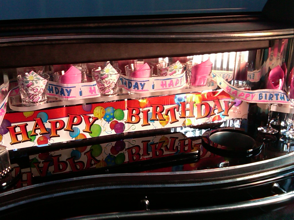 Birthday Limo Decorations