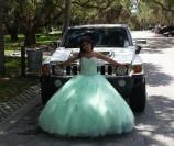 Hummer H3 Quinceanera Photo